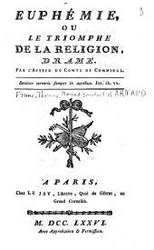 Euphémie ou Le triomphe de la religion, drame