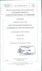 State and Local Taxation and Economic Growth PDF