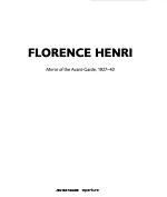 Florence Henri: Mirror of the Avant-Garde 1927-40