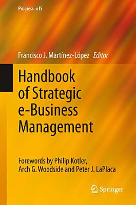 Handbook of Strategic e Business Management