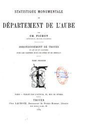 Statistique monumentale du département de l'Aube
