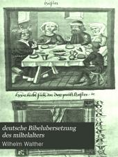 deutsche Bibelubersetzung des miltelalters
