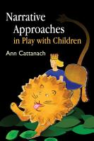 Narrative Approaches in Play with Children PDF