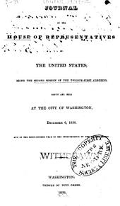 Journal of the House of Representatives of the United States: Volume 21, Issue 2