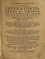 Catalogus imperatorum  regum ac virorum illustrum qui astrologicam artem amarunt PDF