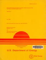 Solar Industrial Retrofit System  North Coles Levee Natural Gas Processing Plant  Final Report PDF