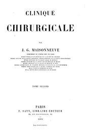 Clinique chirurgicale: Volume2