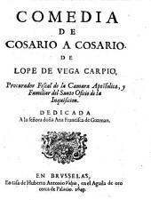 Comedia de Cosario a Cosario