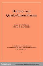 Hadrons and Quark–Gluon Plasma