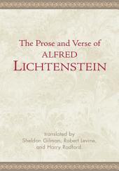 The Prose and Verse of Alfred Lichtenstein