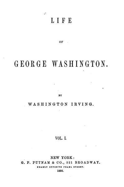 Download The Life of George Washington Book