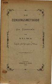 De zendingsmethode van Jan Compagnie: toespraak