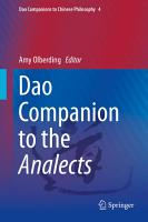 Dao Companion to the Analects PDF