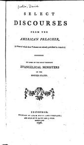 Select discourses from the American preacher ...