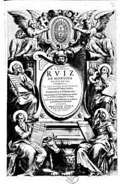 R.P. Didaci Ruiz de Montoya ... Commentarij, ac disputationes ad quaestionem 22. & bonam partem quaestionis 23. ex prima parte S. Thomae, De Prouidentia praedefiniente, ac praebente praedestinationis exordium