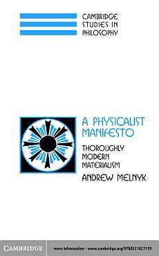 A Physicalist Manifesto PDF