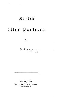Kritik aller Parteien PDF