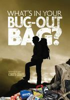 What s in Your Bug Out Bag  PDF