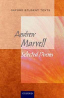 Oxford Student Texts  Marvell  Selected Poems