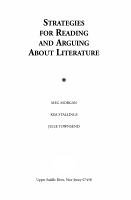 Strategies for Reading and Arguing about Literature PDF