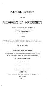 Political Economy: And the Philosophy of Government