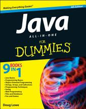 Java All-in-One For Dummies: Edition 4