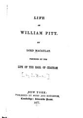 Life of William Pitt