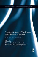 Frontline Delivery of Welfare to work Policies in Europe PDF
