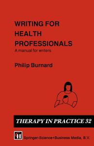 Writing for Health Professionals PDF