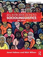 An Introduction to Sociolinguistics PDF