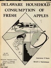 Delaware Household Consumption of Fresh Apples PDF