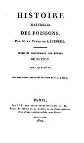 Oeuvres complètes de Buffon: Histoire naturelle