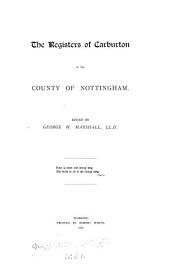 The Registers of Carburton, in the County of Nottingham