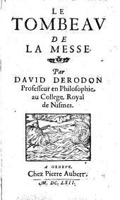 L'histoire de la vie et mort de feu Mr Jean Calvin, fidele serviteur de Jesus Christ