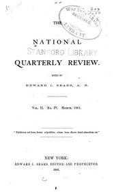 The National Quarterly Review: Volume 2