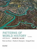 Patterns of World History  Volume Two  from 1400  with Sources