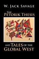 The Petorik Thesis and Tales of the Global West PDF