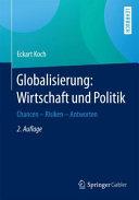 Globalisierung  Wirtschaft und Politik PDF