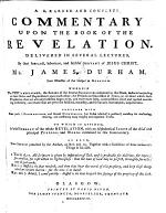 A Learned and Complete Commentary upon the Book of the Revelation ... By ... James Durham ... [Edited by John Carstairs. With the text.] As also two Sermons preached by the author, on Rev. XXII, 20. Together with a collection of some memorable things in his life