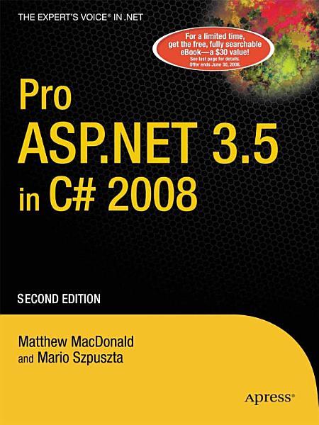 Pro ASP NET 3 5 in C  2008