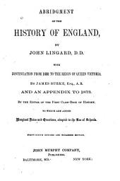 Abridgment of the History of England