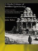 A Hindu Critique of Buddhist Epistemology
