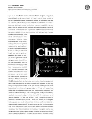 When Your Child Is Missing PDF