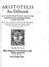 Aristotelis Ars disserendi