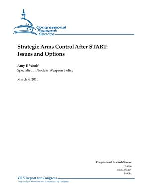 Strategic Arms Control After START