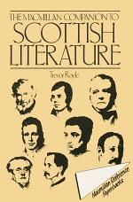 Macmillan Companion to Scottish Literature