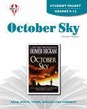 October Sky Student Packet PDF