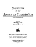 Encyclopedia of the American Constitution PDF