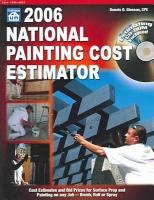 2006 National Painting Cost Estimator PDF