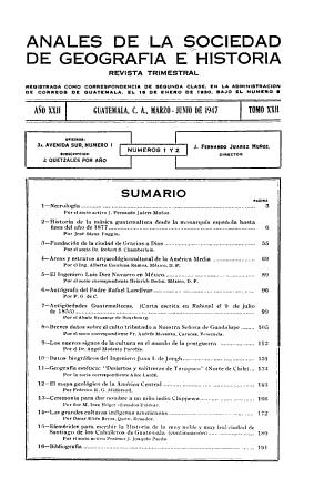 Anales de la Sociedad de Geografia e Historia PDF